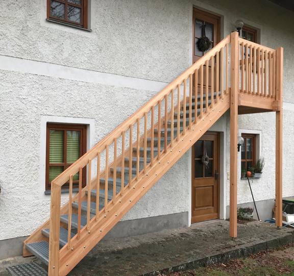 Außentreppen & Metalltreppen | Traxler Treppen | Traxler Treppen